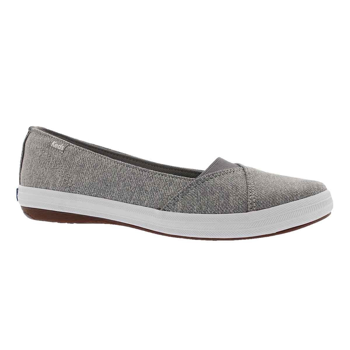 Women's CALI II grey casual slip on sneaker