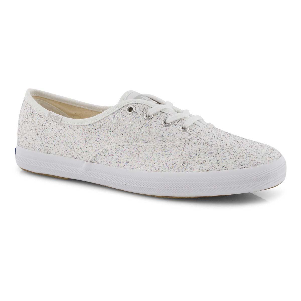 1170141d7444 Keds Women's CHAMPION STARLIGHT white sneaker | Softmoc.com