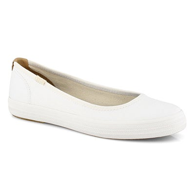 Lds Bryn white casual slip on