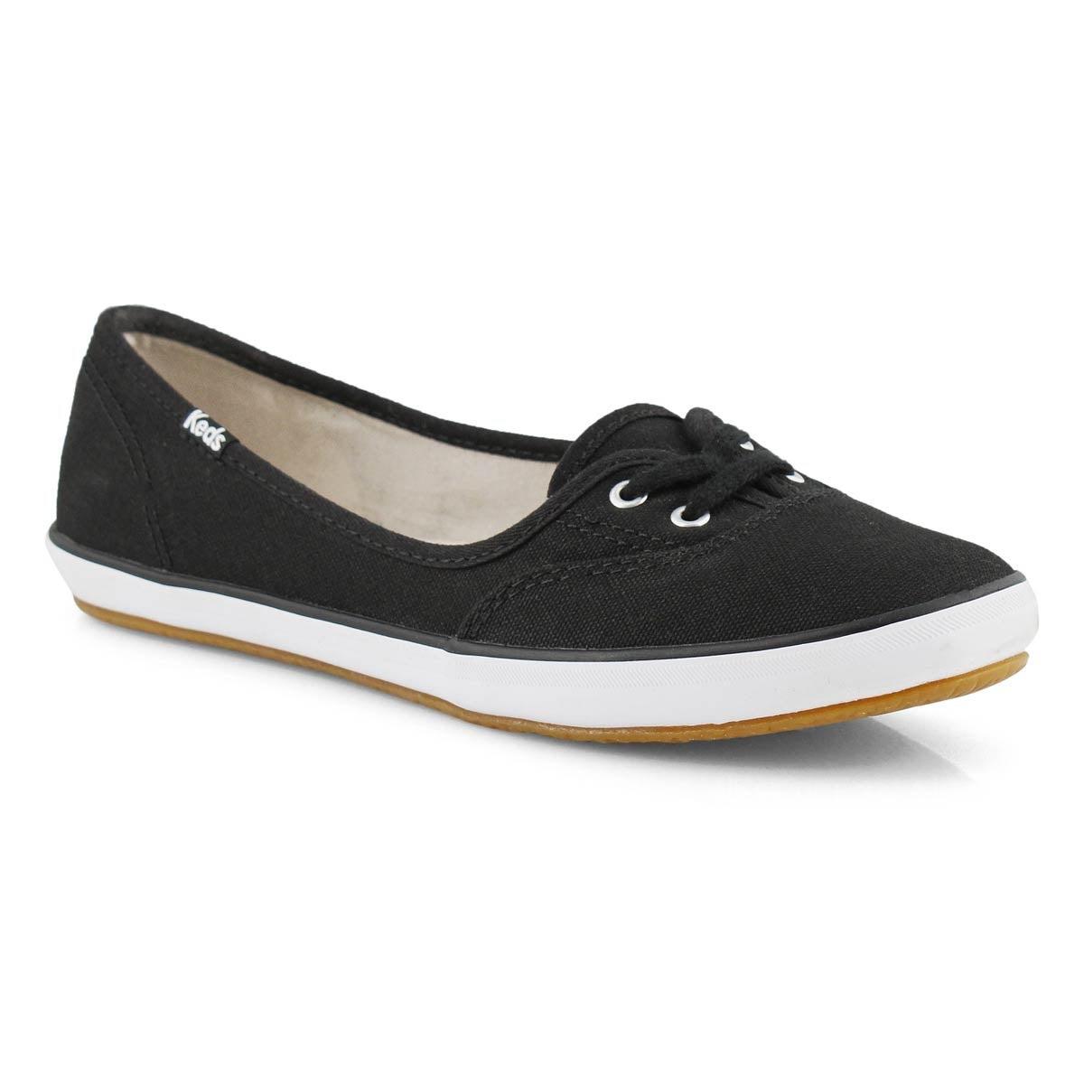 d4d9c2339d Keds Women's TEACUP TWILLL black slip on shoe   Softmoc.com