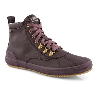 Lds Scout Boot II WX burg ankle boot