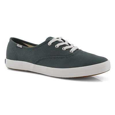 Lds Champion Solid balsam grn sneaker