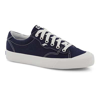 Lds Crew Kick 75 navy sneaker
