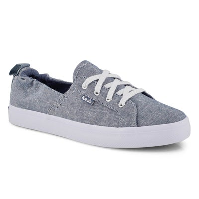 Lds Darcy blue lace up sneaker