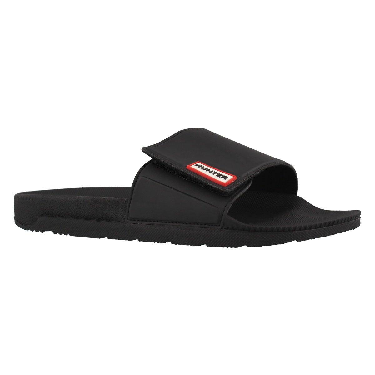 Women's ORIGINAL ADJUSTABLE SLIDE black sandals