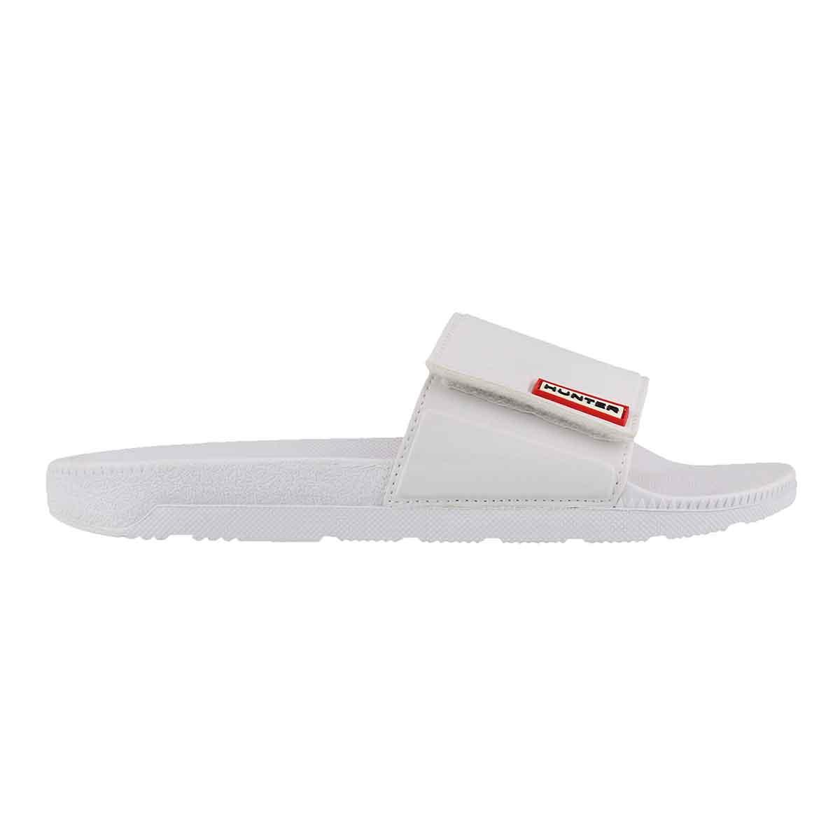 Lds Original Adj. Slide white sandal