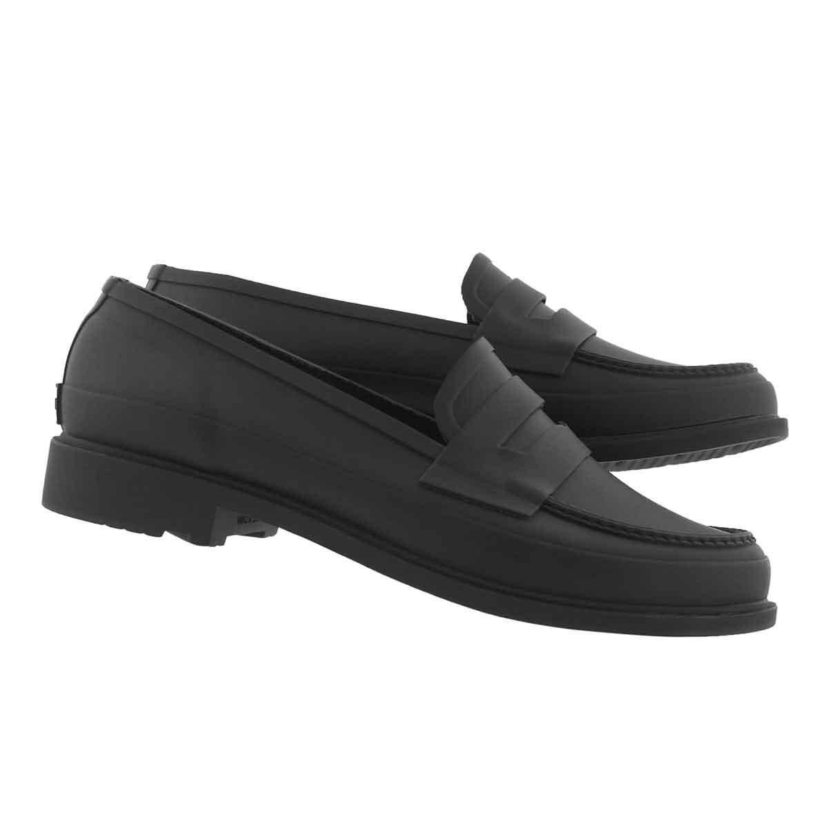 Lds Refined Loafer Matte blk shoe