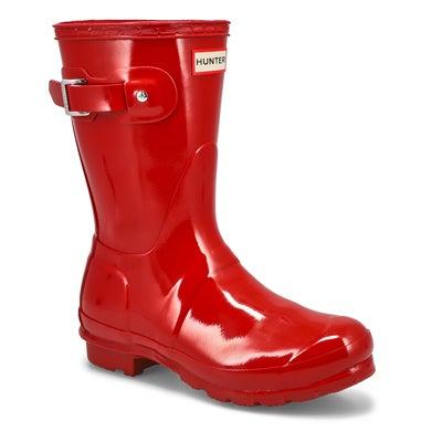 Lds Original Short Gloss red rainboot