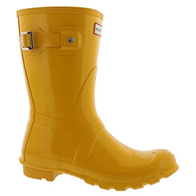 Lds Original Short Gloss yellow rainboot