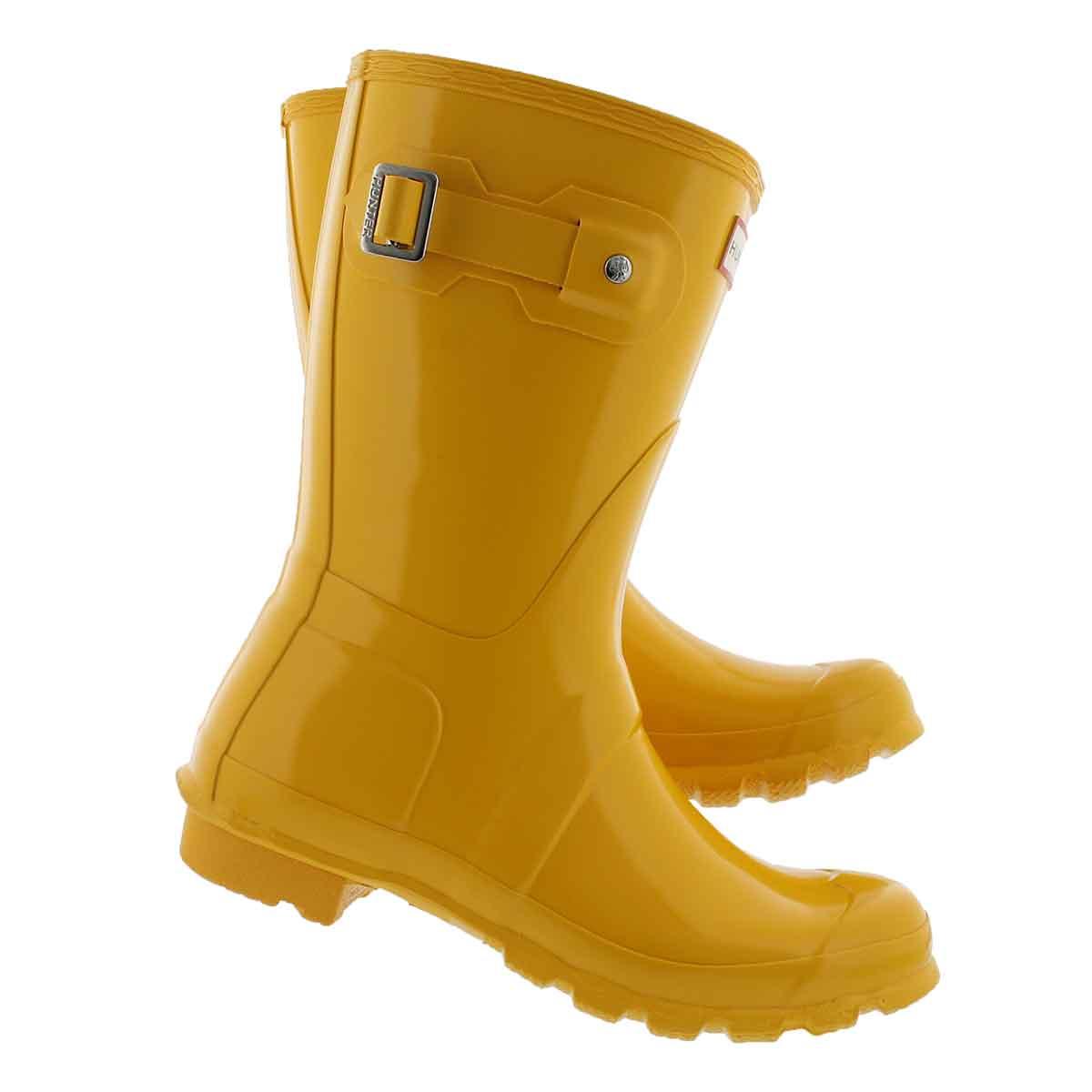 Lds Original Short Gloss yellow rainboot