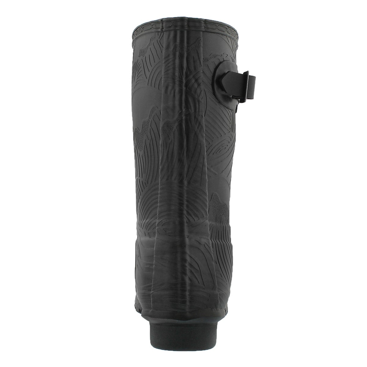 Lds OriginalShrtWaveTexture blk rainboot