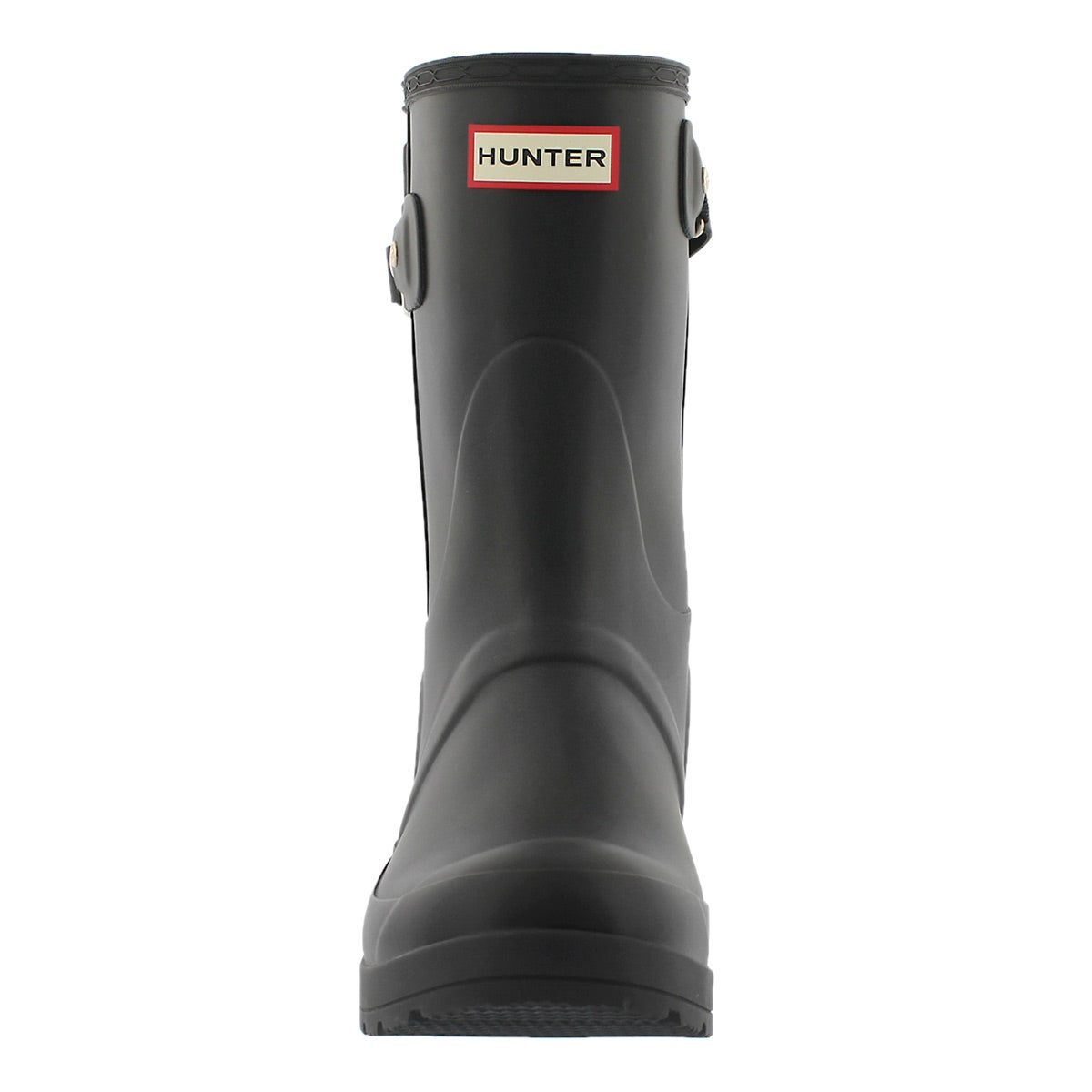 Hunter BOOTS Women's Original Short Wedge Back Strapstuds Rain ...