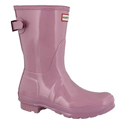 Lds Org Back Adj Shrt Gloss blo rainboot