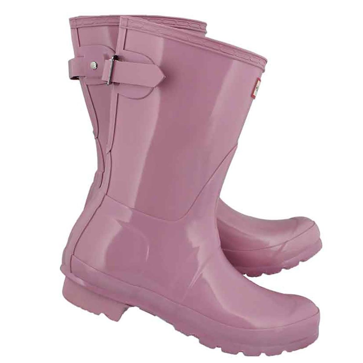 Lds Org Back Adj Shrt Gloss blo rainboot