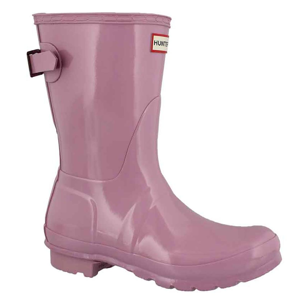 Women's ORIGINAL BACK ADJ SHORT GLOSS rain boots
