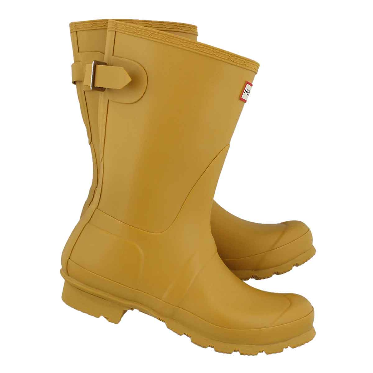 Lds Org Back Adj. Shrt yellow rainboot