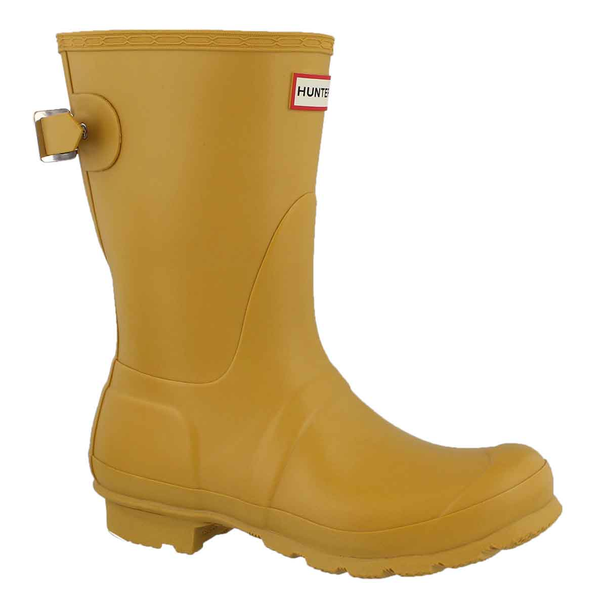 Women's ORIGINAL BACK ADJ SHORT yellow rain boots