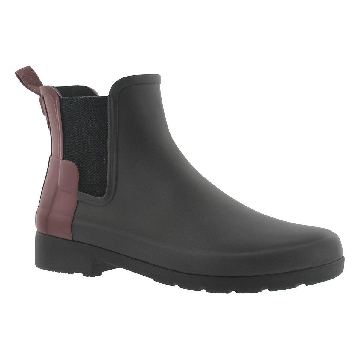 Lds OrgRefinedChelsea blk/dls rainboot
