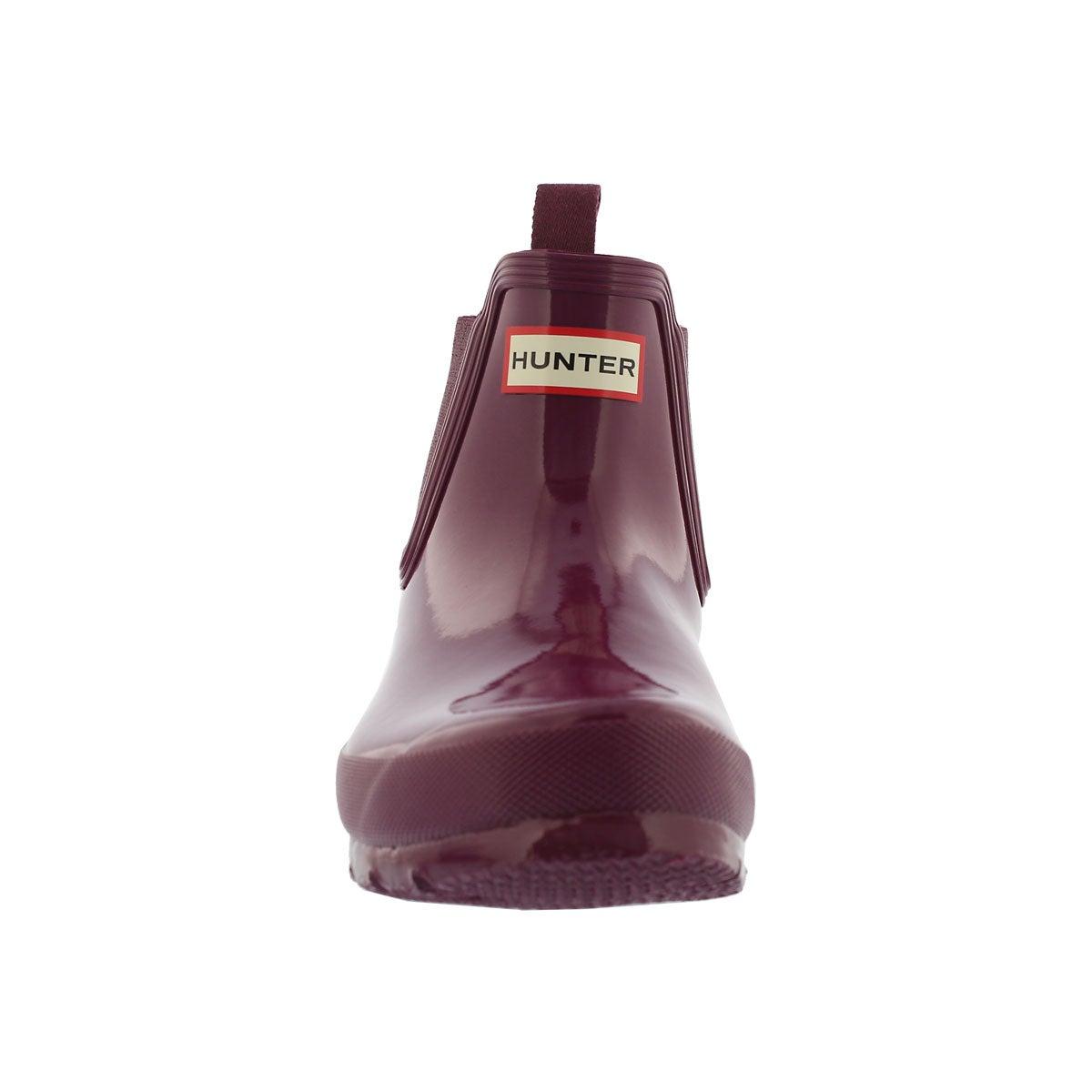 Lds Orig. Chelsea gloss violet rain boot
