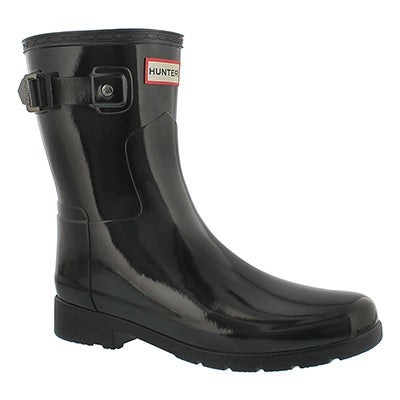 Lds Orig Refined Sht Gls black rain boot