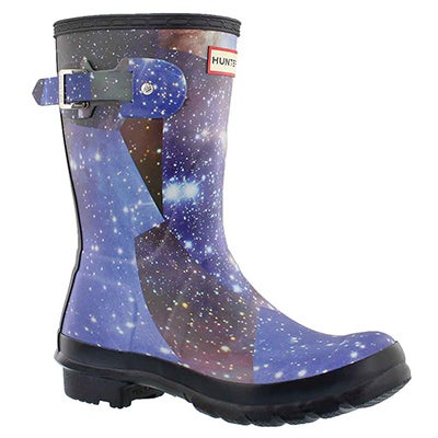 Lds Orig.Short SpaceCamo mdngt rain boot