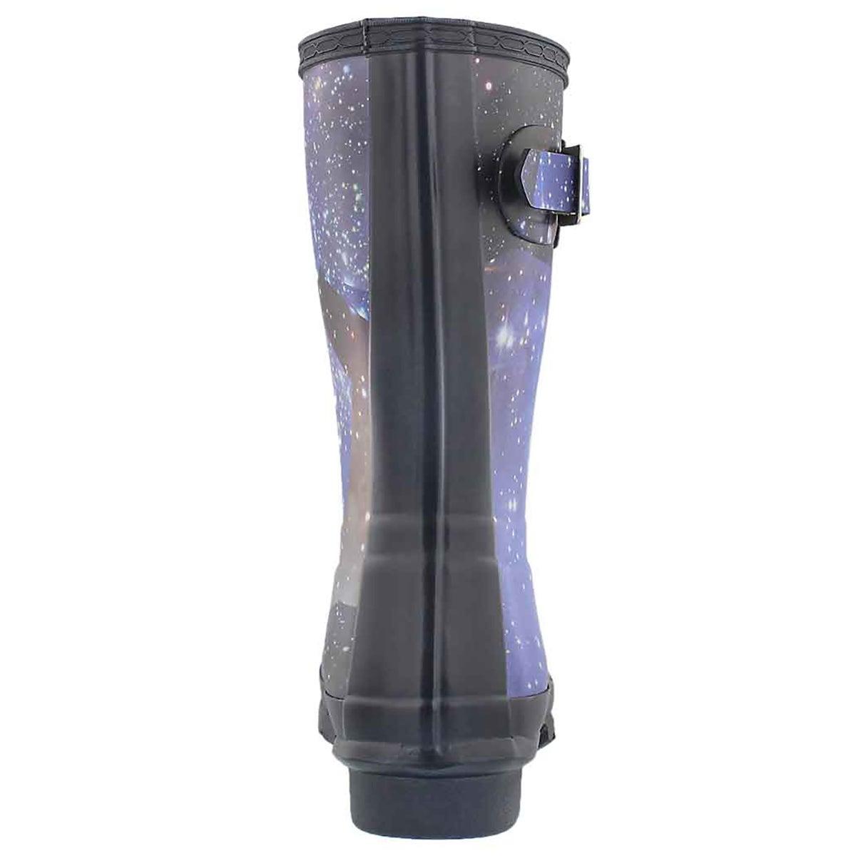 Lds Orig.Short SpaceCamo mdngt rain boot