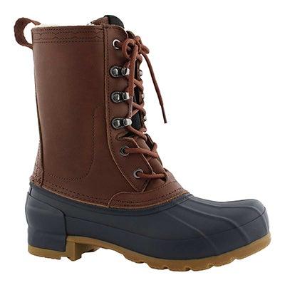 Lds OrgInsulated sienna/nvy wpf pac boot