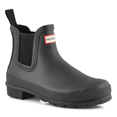 Lds Orig. Chelsea black rain boot