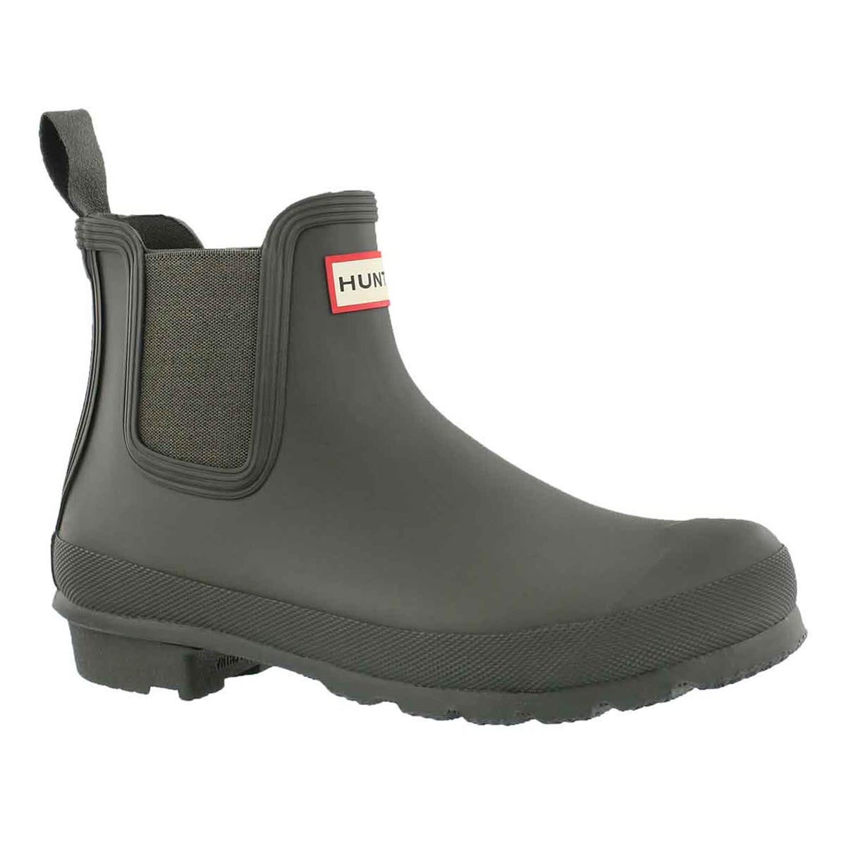 Women's ORIGINAL CHELSEA dark olive rain boots
