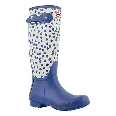 Hunter Women's ORIGINAL TALL FESTIVAL FLORAL rain boots