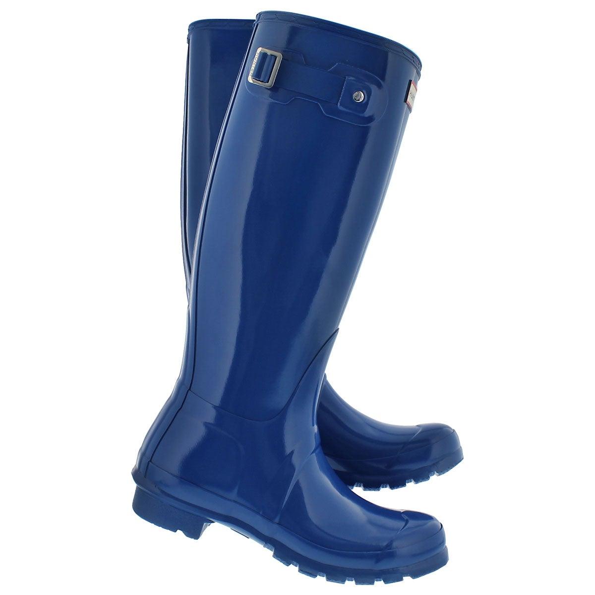 Lds Original Tall Gloss azure rain boot
