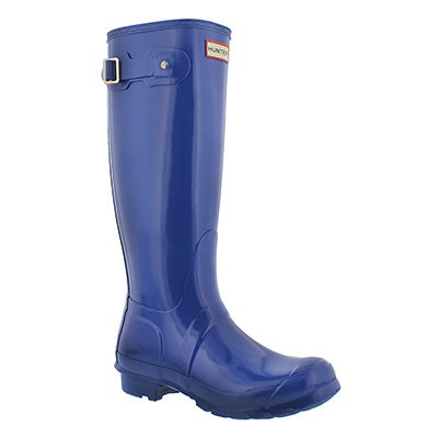 Hunter Women's ORIGINAL TALL GLOSS bright cobalt boots