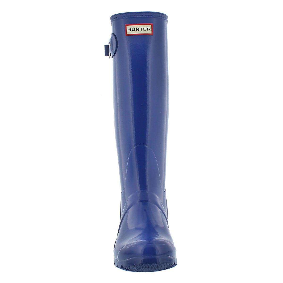 Lds Orig. Tall Gloss bright cobalt boot