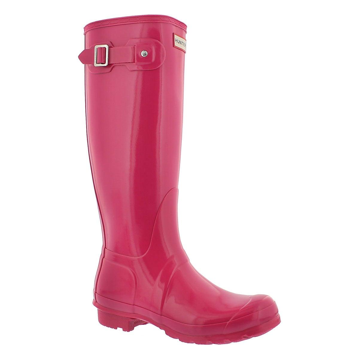 Lds Orig. Tall Gloss bright cerise boot