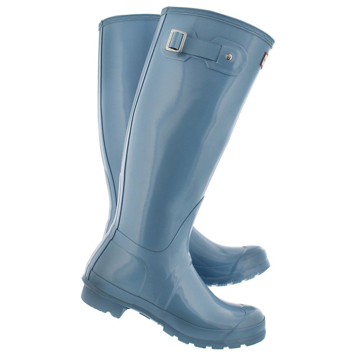 Lds Orig. Tall Gloss sky blue rain boot