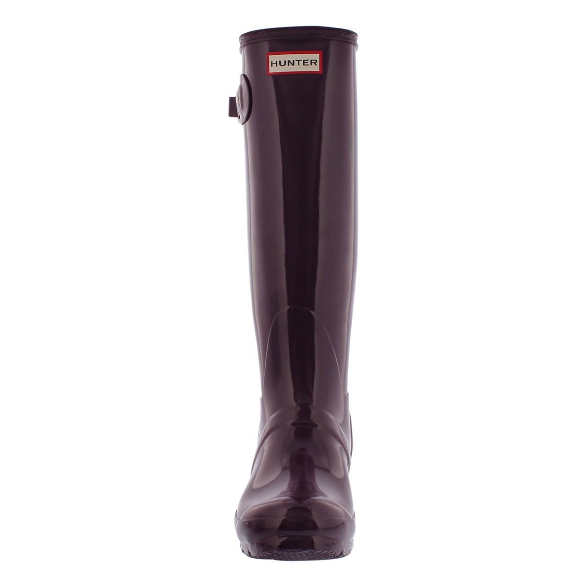 Lds Original Tall Gloss purple rain boot