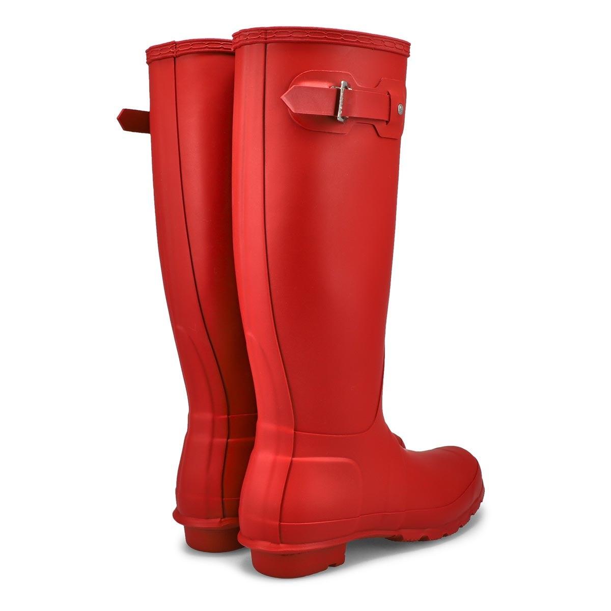 Lds Original Tall Classic red rain boot