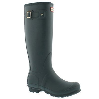 Hunter Women's ORIGINAL TALL CLASSIC ocean rain boots