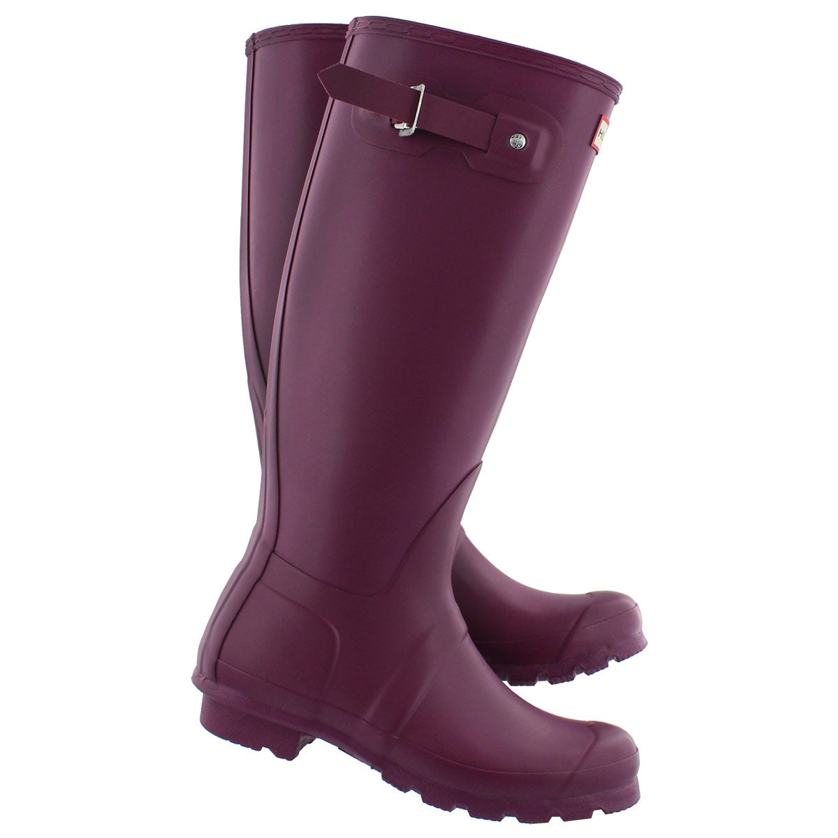 Elegant Hunter Original Tall Gloss Rain Boot For Women  Wwwteexecom