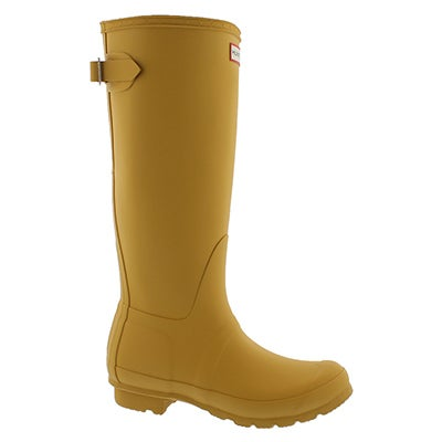 Lds Org Back Adj tall yellow rainboot