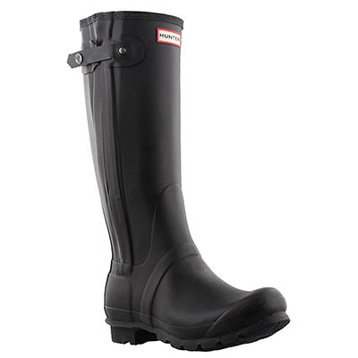 Lds Origi Slim Textured Leg blk rainboot