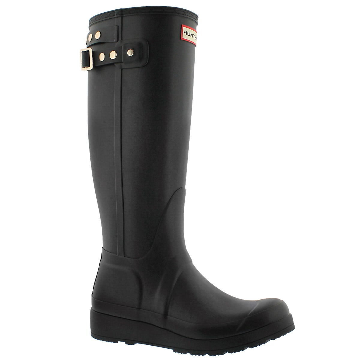 Hunter Boots Women's Original Tall Wedge Back Strapstuds Rain ...