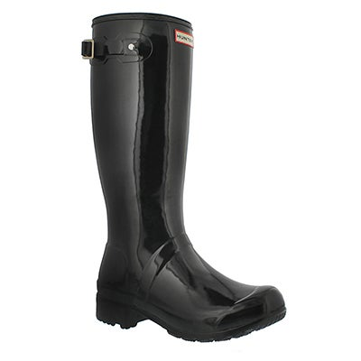 Lds Original Tour Gloss blk rain boot