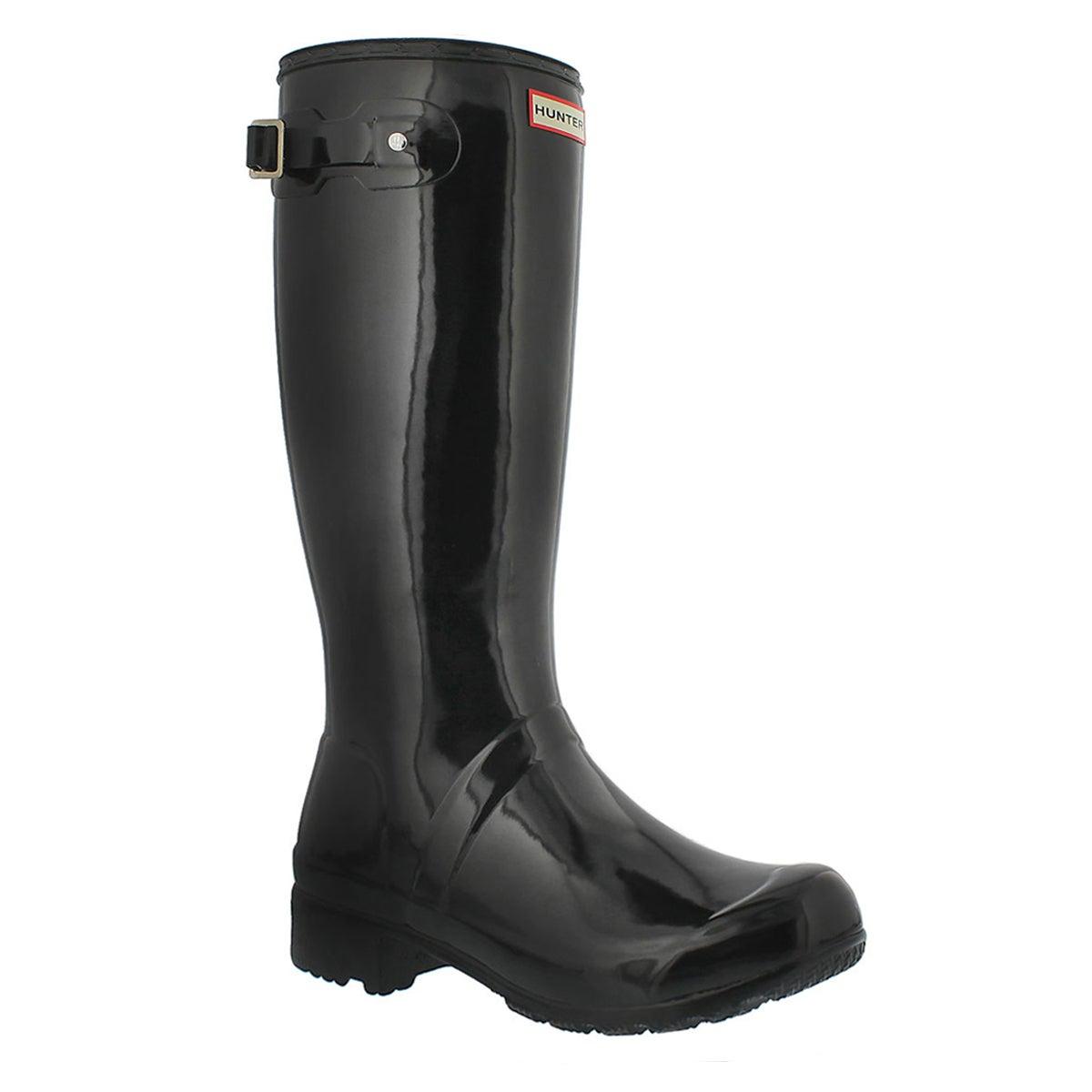 Lds Original Tour Gloss blk rain boot