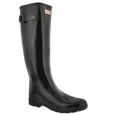 Lds Orig Refined Gloss black rain boot