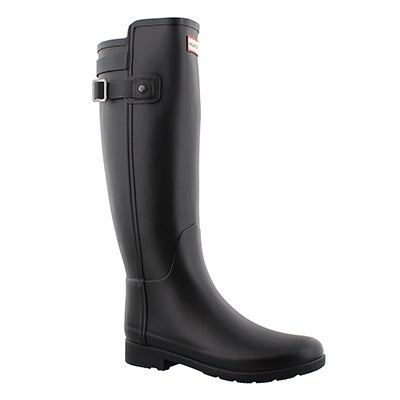 Lds Refined Back Strap blk rainboot