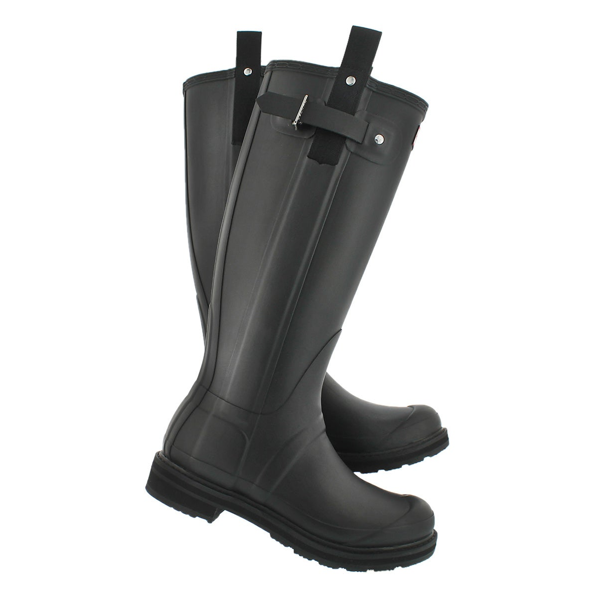 Lds Pulltab Lightweight blk rain boot