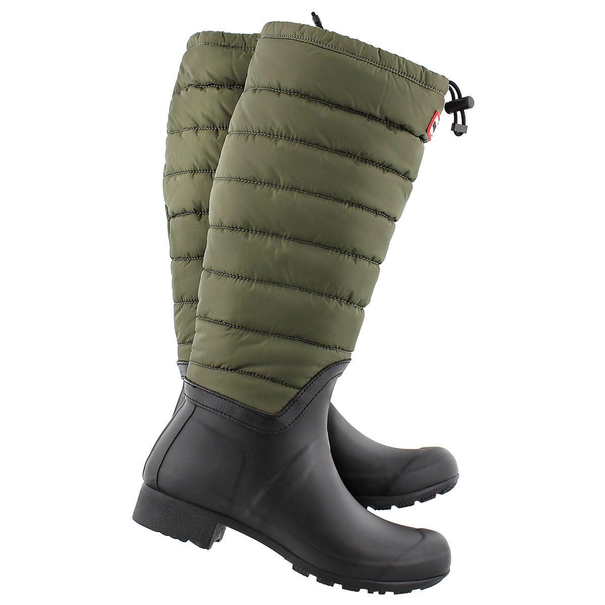 Lds Original Quilted Leg swamp rain boot