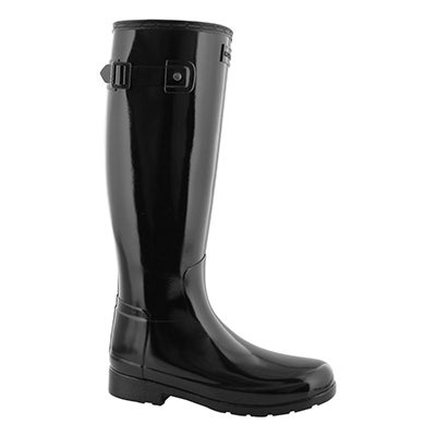 Lds Refined Wide Fit black rainboot-wide