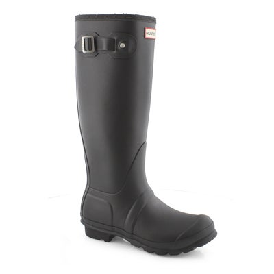 Lds Orig Tall Insulated blk rain boot